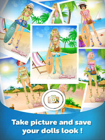 Beach Babe Dress Up- Fun Doll Makeover Game