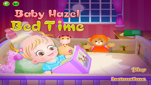 Baby Bed Time Game