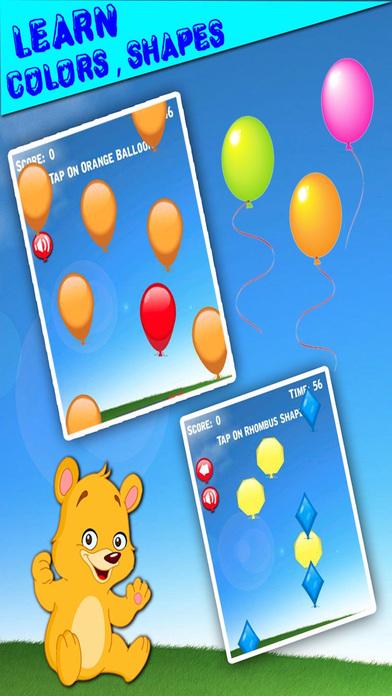 Balloon Pop Fun For Kids