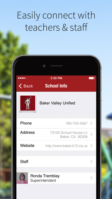 BAKER VALLEY USD
