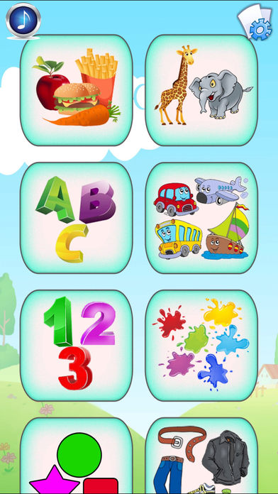 Baby Flash Cards: 500+ toddler flashcards for kids