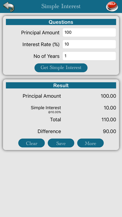 Banking Calc