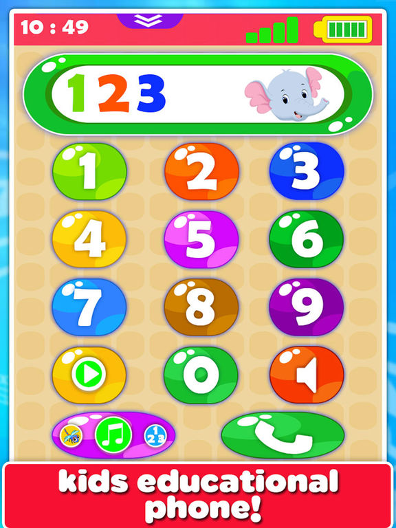 Baby Phone For Toddler To Learn Animal  Numbers