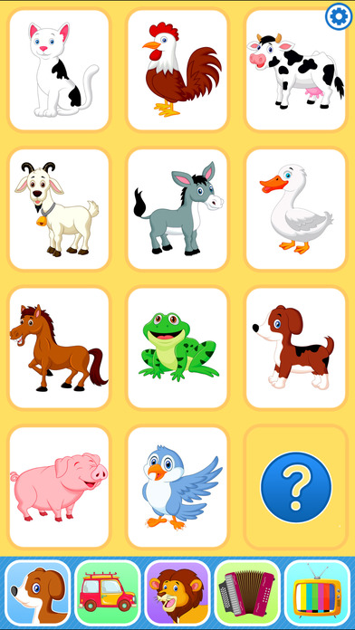Baby Flash Cards Games & Kids Animal Sounds Free
