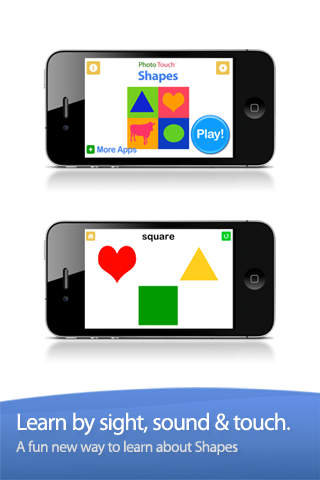 Baby Games My First Shapes