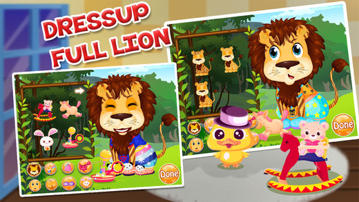 Baby Lion Salon  Dress Up Games