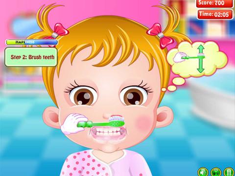 宝宝学刷牙