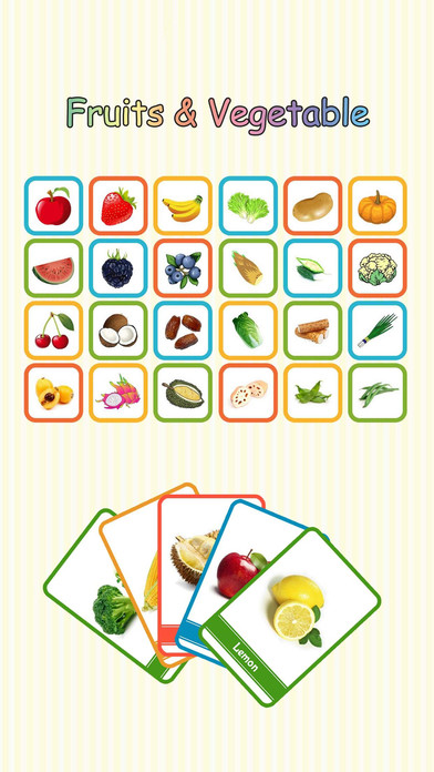 Baby Learning Card