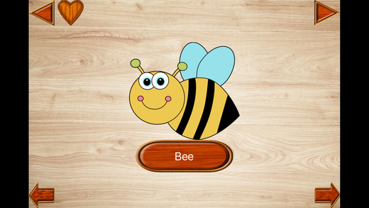 Baby Insect Jigsaws - Kids Learning English Games