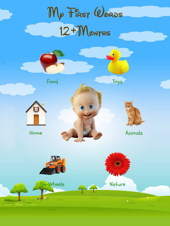 Baby First Words: 12+ Months