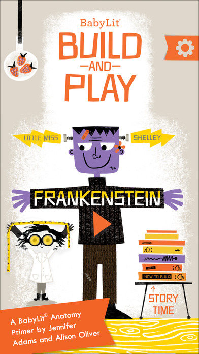BabyLit Frankenstein Build and Play