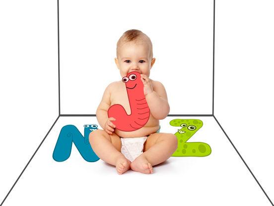 Baby Alphabet - A B C
