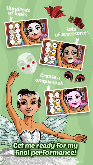 Ballet Day - Ballerina Makeup, Decoration & Fashion