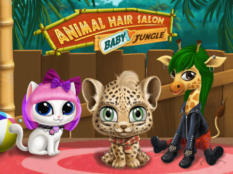 Baby Jungle Animal Hair Salon - No Ads