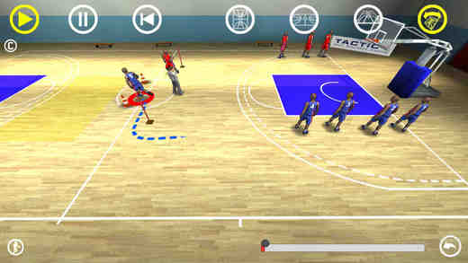 Basketball 3D playbook