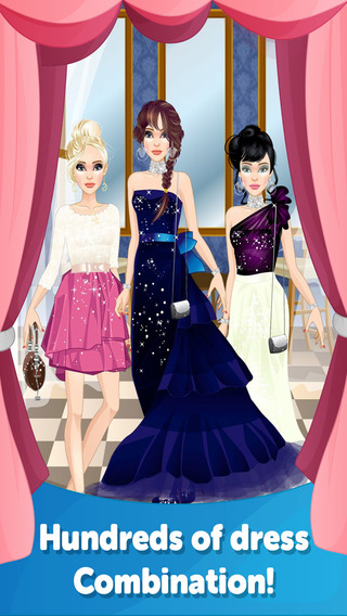 Ball Room Dress Up - Fun Doll Makeover Game