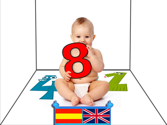 Baby Numbers - 1,2,3,4,5,6,7,8,9