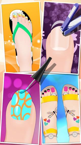 Beauty Salon - Foot Makeover!