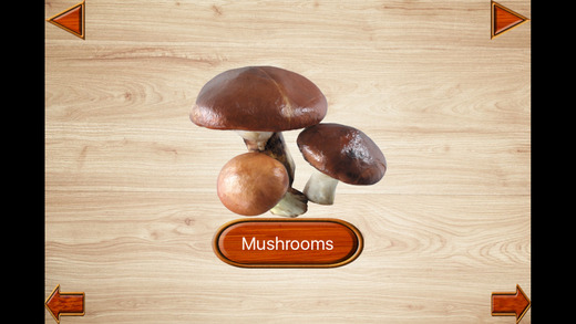 Baby Vegetables Games - Kids English Flashcards