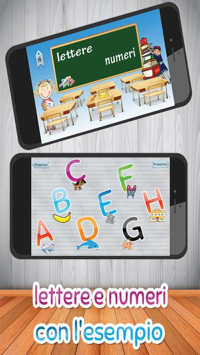 Bambini gioco di apprendimento - italiano