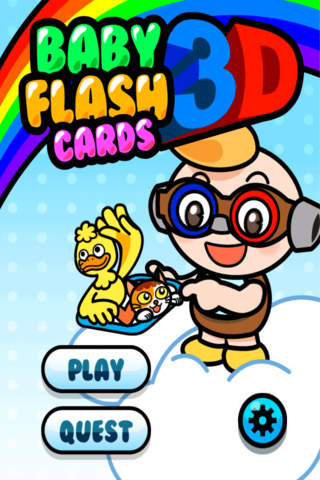 Baby Flash Cards 3D