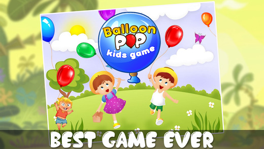 Balloon Pop Kids Game - Educational Baby Game