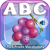 Abc Alphabet Fruits Vegetables For Toddlers & Kids 1.0
