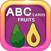 ABCCards Fruits Preschool ABC Alphabets For Kids 1