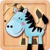 Animal Kingdom Fun Puzzle Woozzle 1.7