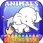 Animals ABC Coloring Book Free For Toddlers & Kids 1.0