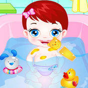 Baby Bathing  Dress up