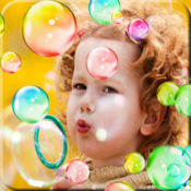 Baby soap bubbles