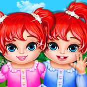 Baby Twins Play House  Free Kids Games! 1