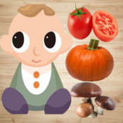 Baby Vegetables Games - Kids English Flashcards 1.2