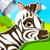 Baby Zebra SPA Salon - Makeover Game For Kids 1