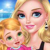 Babysitter & Baby's Beach Day: Paradise Island 1.1