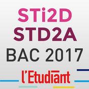 Bac STI2D STD2A 2017 avec L'Etudiant