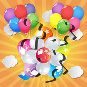 Balloons Pop Flying Jigsaw Puzzle Game