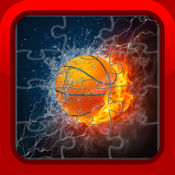 Basketball Sports Jigsaw Puzzle Games for Kids