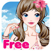 Beach Girl Free Make Up  Dress Up