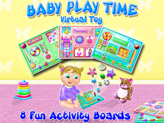 Baby Play Time - Activity Toy Boards for Toddlers