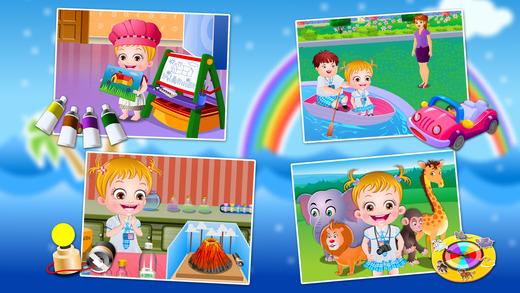 Baby Hazel Preschool Games