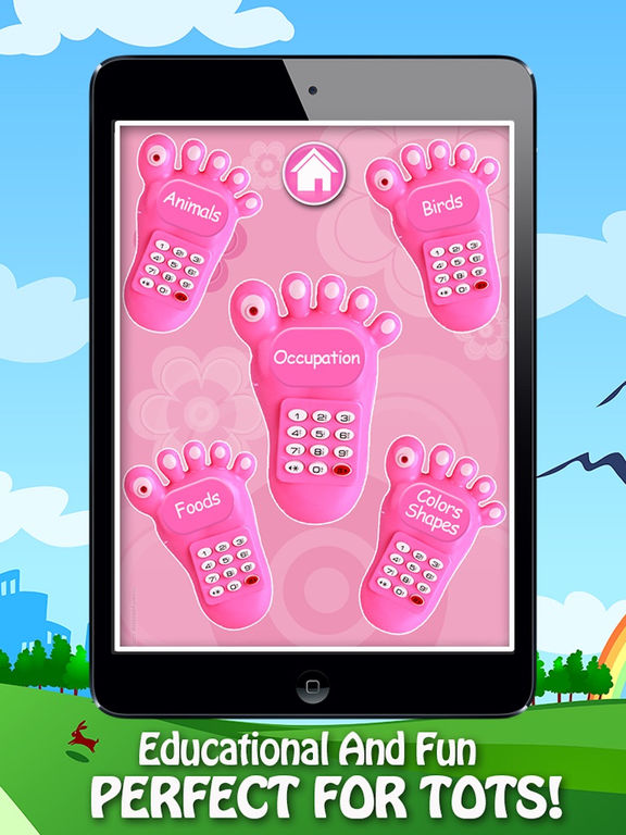 Baby Phone Fun For Kids