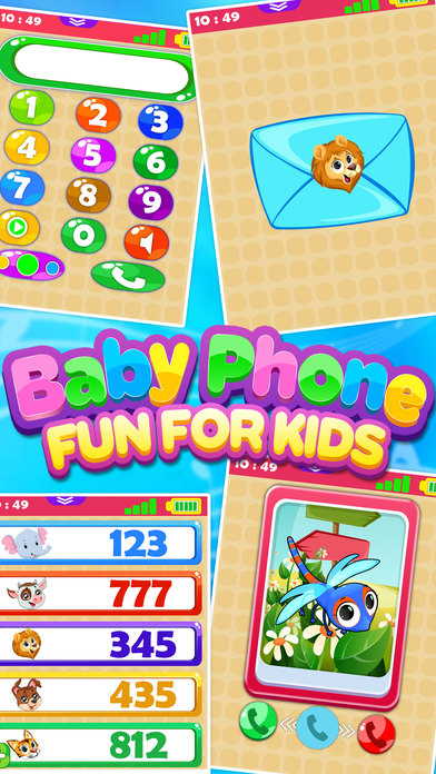 Baby Phone Fun For Toddlers