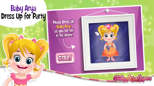 Baby Party Dress Up