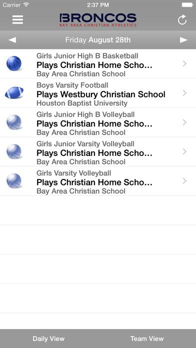 Bay Area Christian Athletics