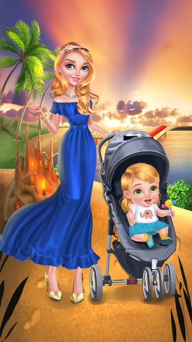 Babysitter  Baby's Beach Day: Paradise Island