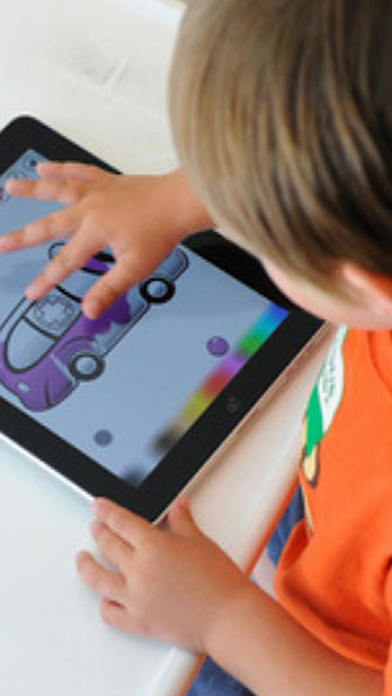 Baby First Words And FlashCards: Vehicles Learning