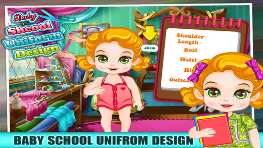 Baby Uniform Tailor - Make Up And Dress Up Game