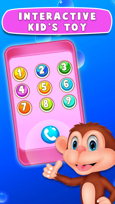 Baby Kids Learning Phone Education